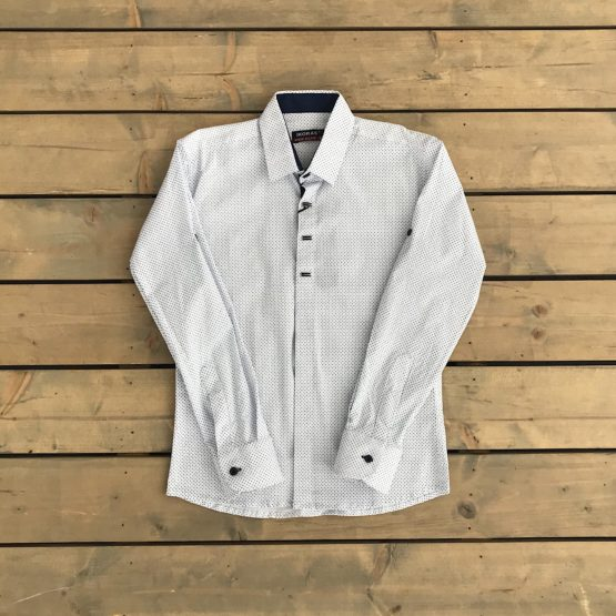 Ikoras taškuoti marškinukai